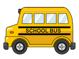 cartoonish picture of a schoolbus