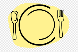graphic image of a plate of food